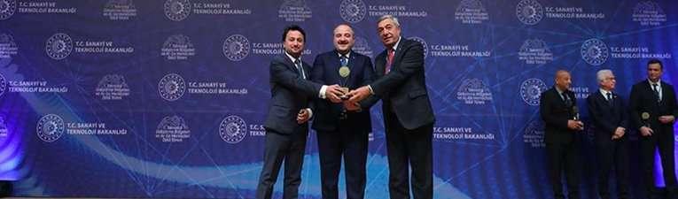 entes ar-ge merkezi türkiye 3.sü seçildi!