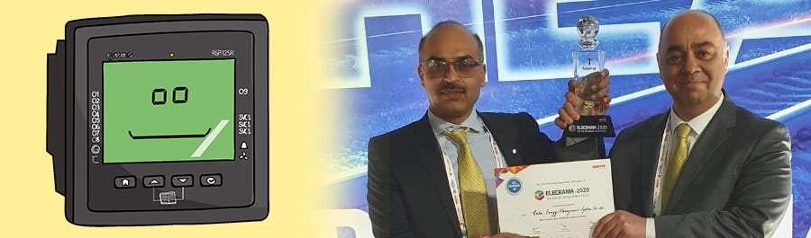 rgp reaktif güç kontrol röleleri'ne hindistan'da ödül