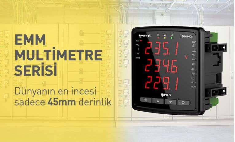 EMM Multimetre Serisi: Hesaplı, Şık ve Güvenilir
