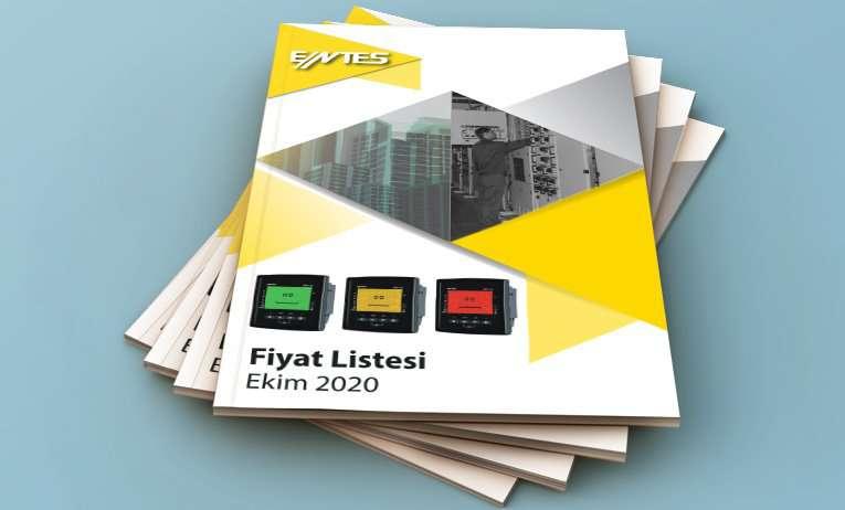 ENTES Yeni Fiyat Listesi 1 Ekim 2020 tarihi itibarıyla yayınlandı