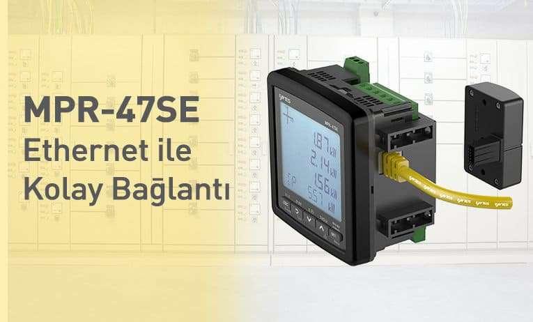 MPR-47SE - Ethernet ile Kolay Bağlantı