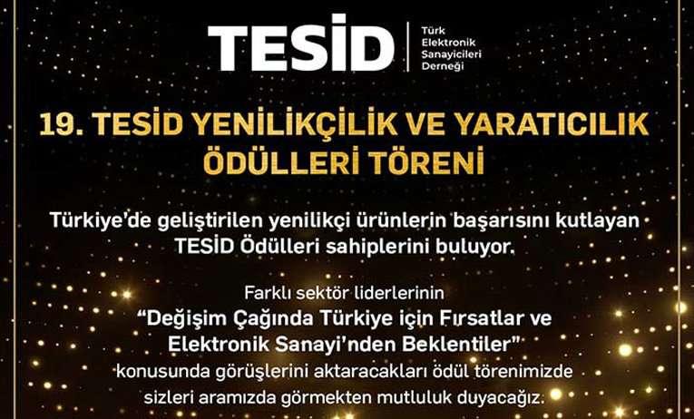 19. TESİD Yenilikçilik ve Yaratıcılık Ödülleri Töreni