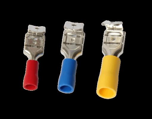 İzoleli Geri Dönüşlü Faston Tip Kablo Uçları